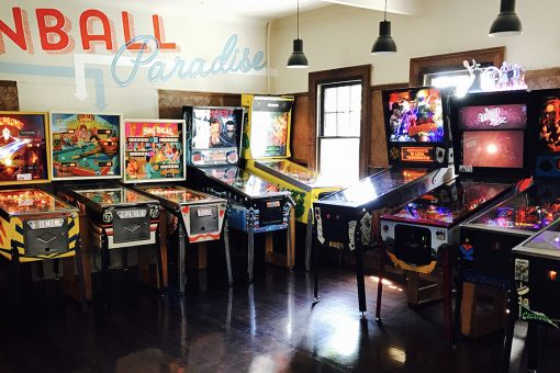 Pinball Paradise 1 Bucks Party Venues Melbourne
