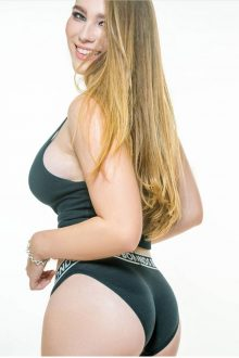 Yaz QLD Topless Waitress