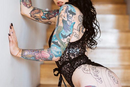 Raven Melbourne Topless Waitress